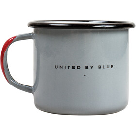 United By Blue Mountains Are Calling Emaille Stahlbecher 355ml grey